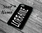 Personalised Your Family Name Wedding Gift Rubber Hard Phone Case Iphone Series