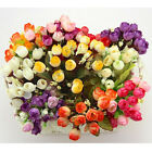 Rosebuds Bouquet of Roses Artificial Flowers Home Wall Party Decor Wedding Decal