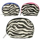 Ladies Bulaggi Make Up/Wash Bags with Zebra Print 10264
