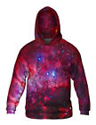 Yizzam- Great Carina Nebula Pink Space Galaxy - New Mens Hoodie Sweater XS S M