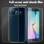 1x Front+Back Anti-shock Full Screen Protector Curved Cover for Samsung