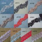 10 Colors 2'' Wide Lovely Rayon Venise Lace White, Pink, Black, Red, Taupe, zhs1