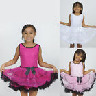 Shiny Sequined TUTU DRESS GIRLS Birthday Party Pageant Dance Recital SALE