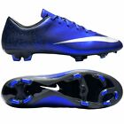 Nike Mercurial Victory V FG CR7 Ronaldo CR Soccer Shoes 2016 Royal Blue - Black