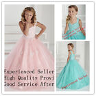 Flower Girl Dresses for Wedding Bridal Prom Birthday Baptism Pageant Party New