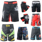 FIXGEAR mens MMA Grappling Shorts  Fighter  Boxing wear Training Shorts S~4XL