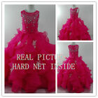 Newest Flower Girl Dresses for Pageant Party Wedding Prom Birthday Princesses fu