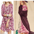 LADIES FLORAL LIGHT CASUAL JERSEY DRESS NEW SIZE 10-18