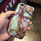 Soft TPU Marble Granite Texture Glossy Gel Case Cover For Apple iPhone 5 6S Plus