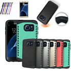 Hybrid  Shockproof Rugged Rubber Hard Case Cover for Samsung Galaxy S7 S7  Edge