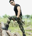 Outdoor camo pants Army fitted trousers Tactical pants Men's uniform Troussers