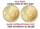 DOUBLE SIDED 50 CENT EURO COIN 50c Euro