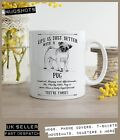 Pug Dog Mug ~ Perfect Gift can be personalised ~ Vintage Style