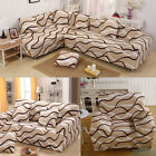 Fashion Life Old for New Arm Chair Loveseat Sofa Couch L Shape Cover Slipcover