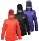 Regatta Laska Womens Hooded Lightweight Waterproof Breathable Jacket