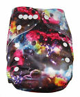 NEW MODERN CLOTH DIAPER MCN DIAPERS POTTY REUSABLE COSMIC