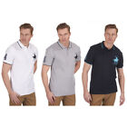 Mens Big Size Polo Horse Shirt Short Sleeve T-Shirt Top Tipped King Plus 3XL-5XL