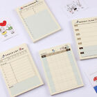 Mini Home Office Monthly Weekly Planner Check List Time Schedule Journal Memo
