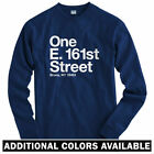 New York Baseball Stadium BXNY Long Sleeve T-shirt - LS Men S-4X - Yankees Bronx
