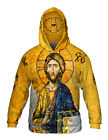 "Yizzam - ""Christian Orthodox Jesus Gold Hagia Sophia""- New Mens Hoodie Sweater"