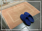 New 100% Cotton Made Bath Mat / Rug - 75*50cm