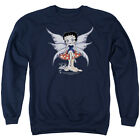 BETTY BOOP MUSHROOM FAIRY Licensed Pullover Crewneck Sweatshirt SM-3XL $29.54 USD on eBay