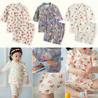 "Vaenait Baby Infant Girls Short Sleeve Sleepwear Pyjama ""Girls Snap set"" 0-24M"