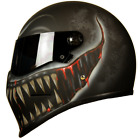 Custom Airbrushed/painted Matrix StreetFX fibreglass helmet Bandit Simpson style