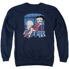 BETTY BOOP MOONLIGHT Licensed Pullover Crewneck Sweatshirt SM-3XL $38.22 USD