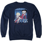 BETTY BOOP MOONLIGHT Licensed Pullover Crewneck Sweatshirt SM-3XL $33.96 USD on eBay