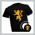 T-shirt Casa House Lannister - Trono di Spade - Game of Thrones + Spilla Omaggio