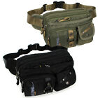 New Black Green Travel sport Fanny pack Waist Belt bag Bum Hip Pouch  men women