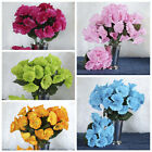 12 SILK PETUNIA BUSHES Artificial Wedding Party Flowers Centerpieces Decorations