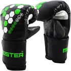 MEISTER FORMULA HEX BAG MITTS - Boxing Gloves Heavy Focus MMA Muay Thai Sparring