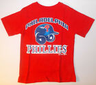 MLB Philadelphia Phillies Girls Boys T-Shirts Size XSmall 4 NWT