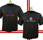 counter strike new game - COUNTER STRIKE Game Logo Short Sleeve Men's T-Shirt Cotton Black Shirt S - 5XL