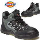 MENS DICKIES SAFETY BOOTS STEEL TOE CAP ANKLE HIKER WORK SHOES SIZE NEW