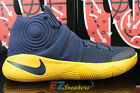 NIKE KYRIE IRVING 2 II CAVALIERS MIDNIGHT NAVY GOLD 819583-447 NEW SIZE 13