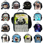 Cool Kids Thermal Cooler Insulated Lunch Bag Girls Boys Lunchbox School Travel