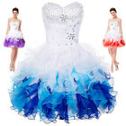 Short/Mini Beaded Prom Cocktail Dress Party Quinceanera Formal Bridesmaid Dress