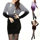 Beautiful Soft Stretchy Gradient Long Sleeves Blouse Sweater Top