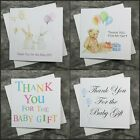 ---  Baby Thank You Cards -- 6 Pack -  Girl & Boy / Choice of Design ---