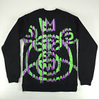 Mishka Derailed Mop Crew Sweatshirt In Black Sizes S M