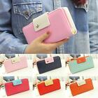New Women PU Leather Buckle Long Purse Clutch Button Wallet Bag Card Holder MSYG