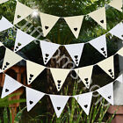 Heart Bunting Garland Banner Wedding Party Decoration Tea Party Accessory