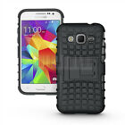 Armor Shockproof Rugged Rubber Protective Hybrid Hard Kickstand Skin Case Cover