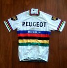 Brand New Team Peugeot World Champion Cycling jersey tom Simpson