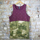 Crooks & Castles Thieves Tank Top In Burgundy Sizes S XL
