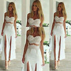 New Long Sexy Bridesmaid Gown Prom Evening Formal Party Cocktail Clubwear Dress