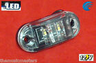 "WHITE 2.5"" LED Courtesy UTILITY LIGHT Waterproof HQ 12V Marine Accent Lighting"